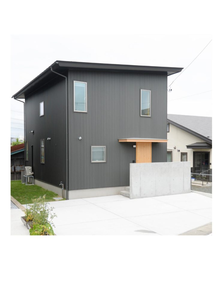 モデルハウス 外観|八戸市 新築住宅