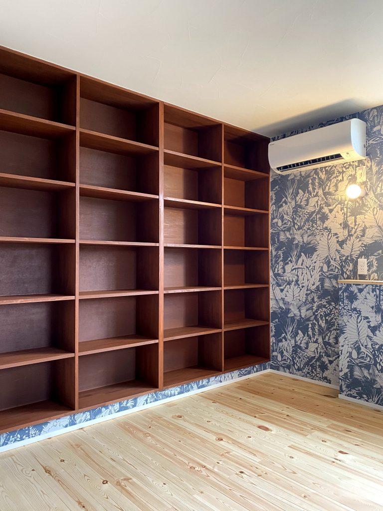 本棚のある部屋 八戸市 新築住宅