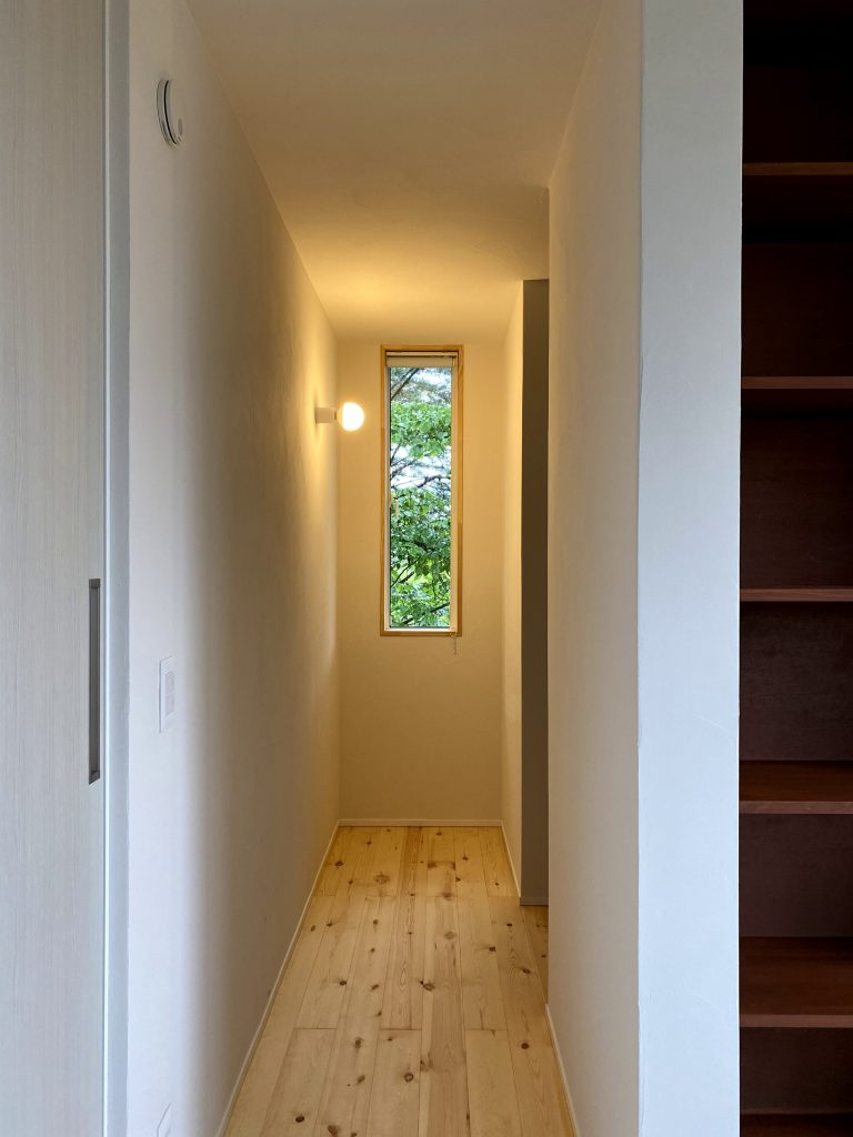 お部屋の奥にはクローゼット 八戸市 新築住宅