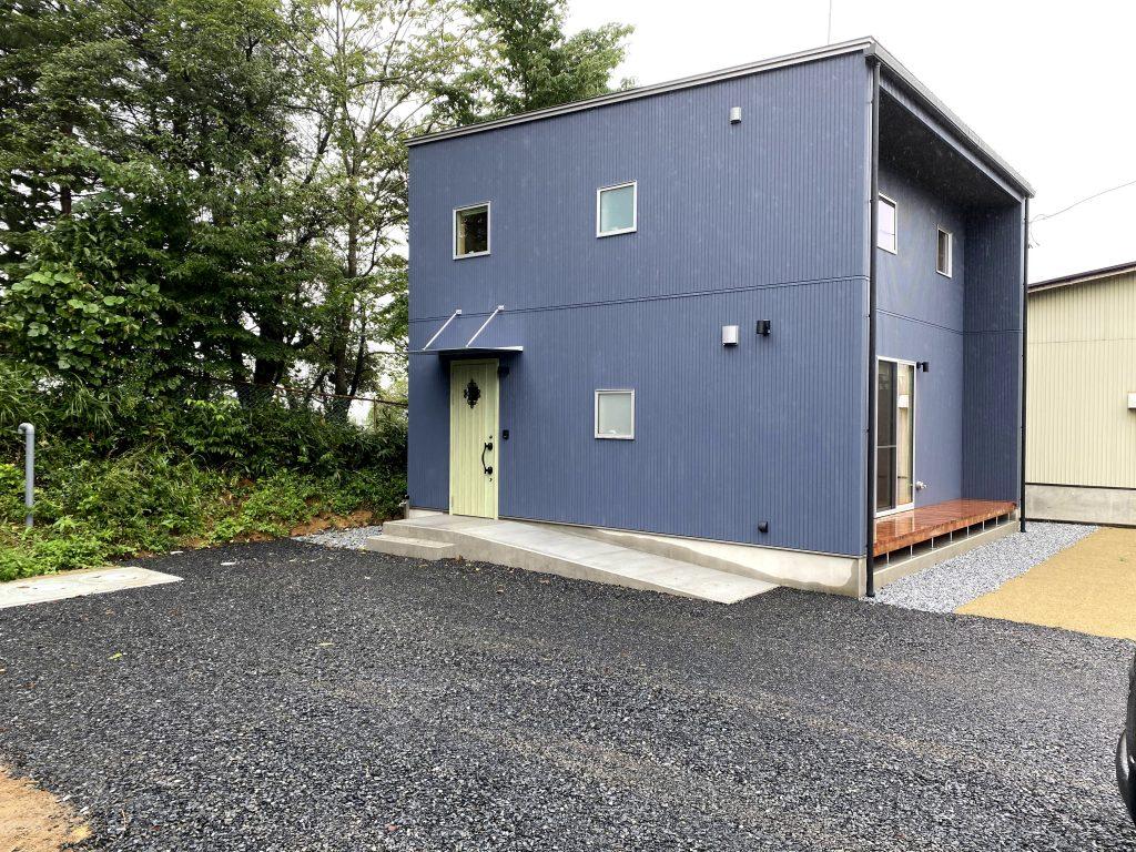 岩手県 新築注文住宅の外観|八戸市 工務店