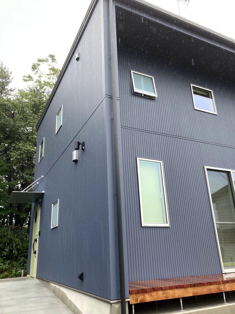かっこいい外観|八戸市 新築住宅