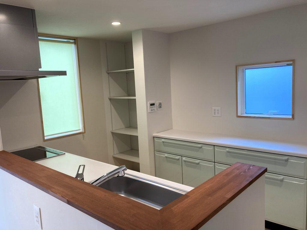 新築住宅のキッチン|八戸市 工務店