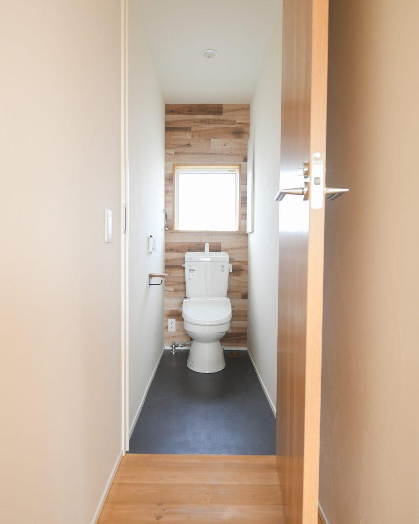 階上町 S様邸のこだわりのトイレ|八戸市 新築住宅