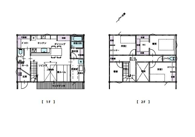 新築住宅の間取り|八戸市 新築住宅