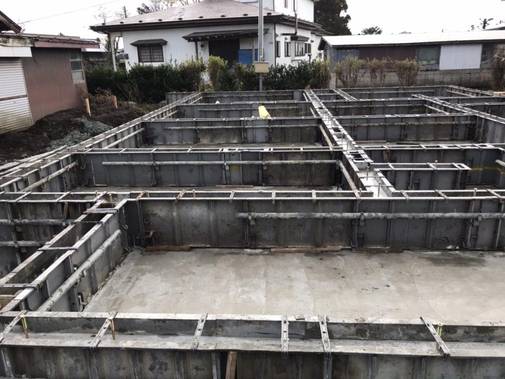 基礎工事|八戸市 新築住宅