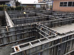 ベタ基礎コンクリート打設|八戸市 工務店