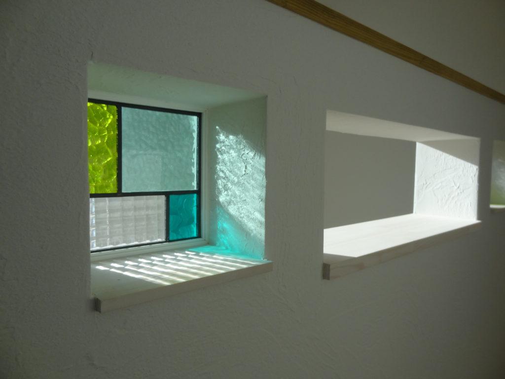 新築住宅のステンドグラス|八戸市 注文住宅