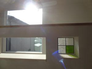 ニッチのステンドグラス|八戸市 注文住宅