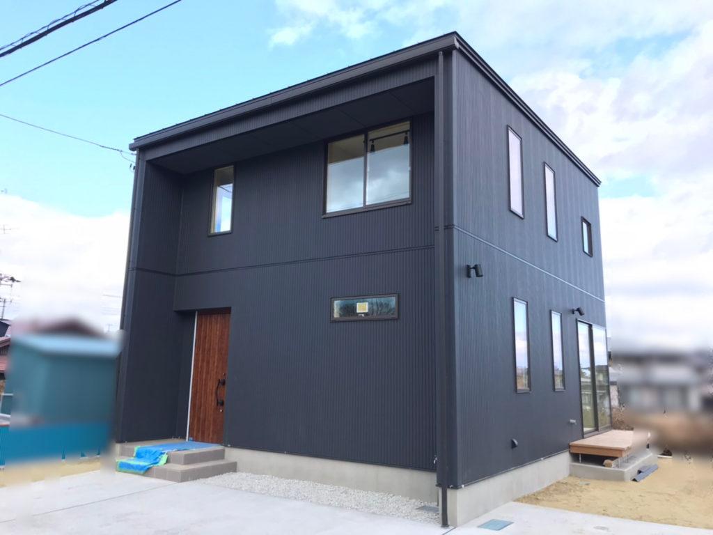 八戸市 新築住宅完成間近 八戸市 工務店