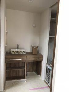 おしゃれな洗面化粧台|八戸市 注文住宅