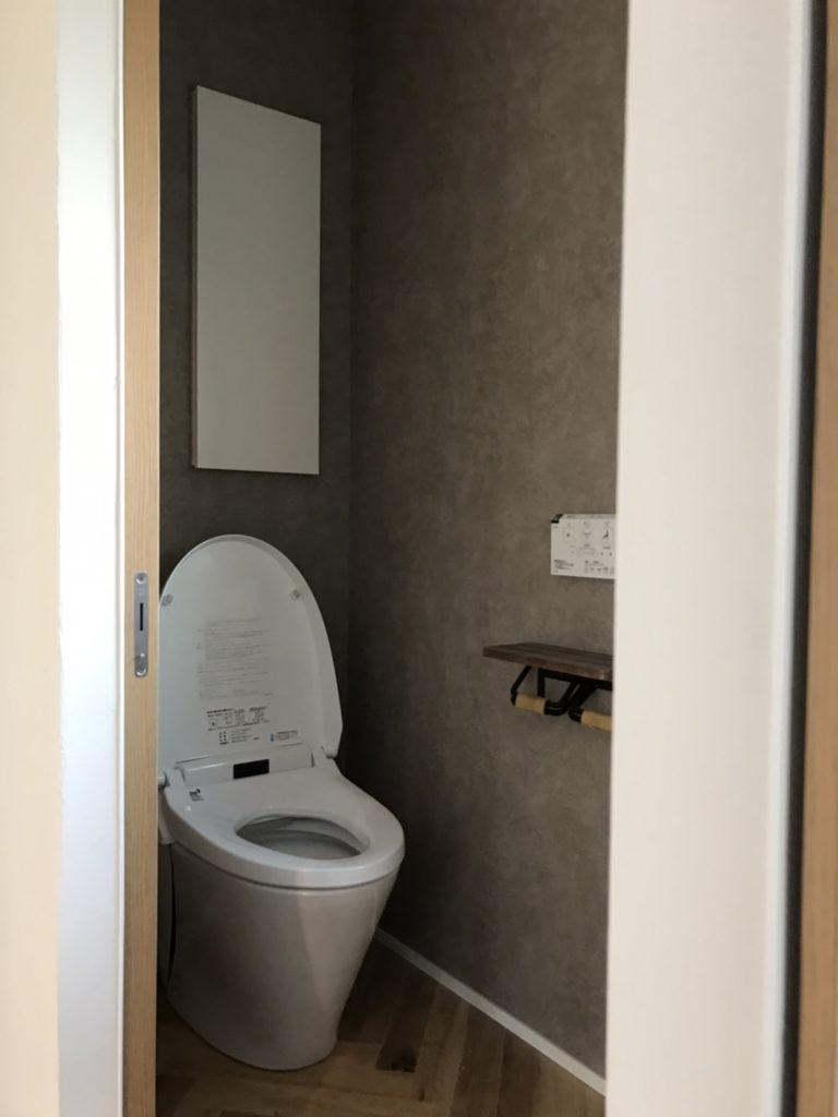 おしゃれな新築のトイレ|八戸市 工務店