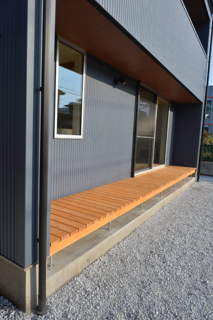 八戸市 新築住宅K様邸の外観