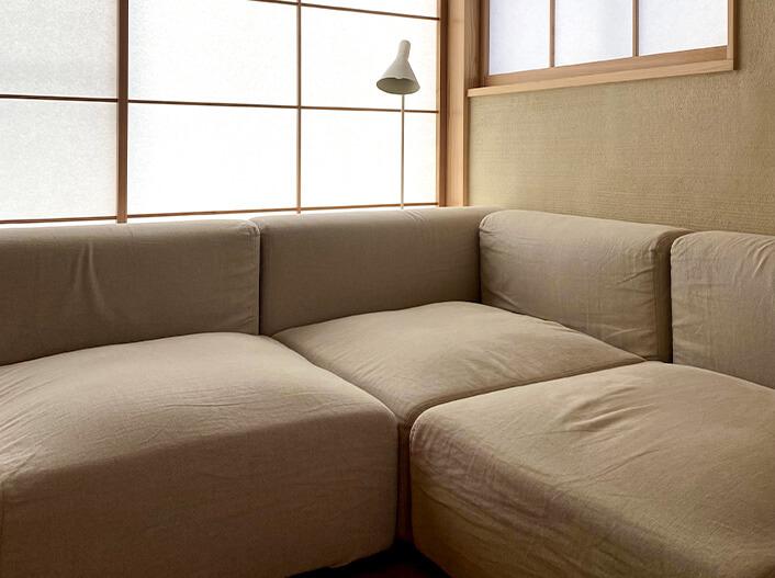 そのまま住める設備・家具 リビングソファセット