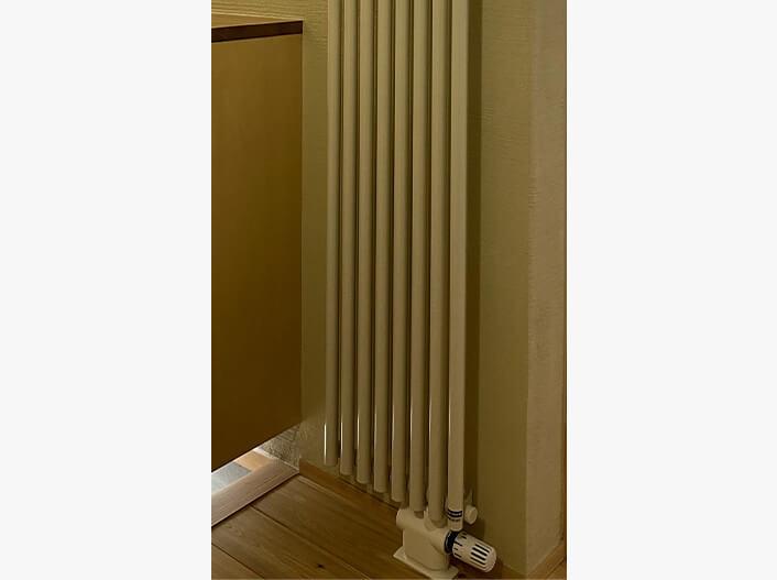 そのまま住める設備・家具|玄関用暖房機