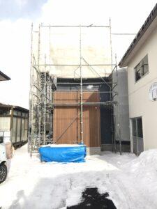 十和田市S様邸の外壁|八戸市 新築住宅