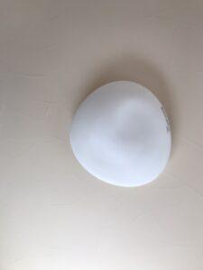 玉いしをイメージした照明|八戸市 工務店