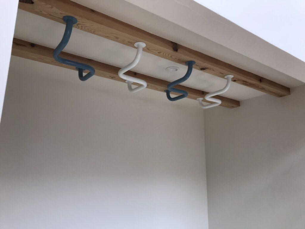 和室の天井の雲梯|八戸市 新築住宅