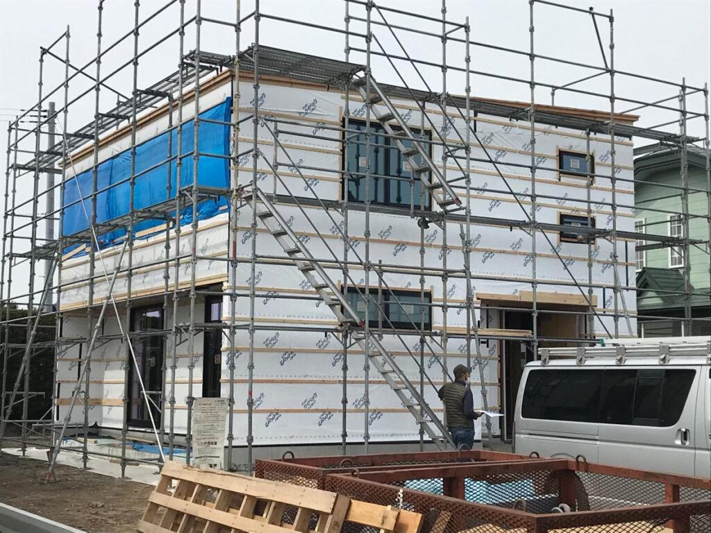 新築住宅の上棟式|八戸市 工務店