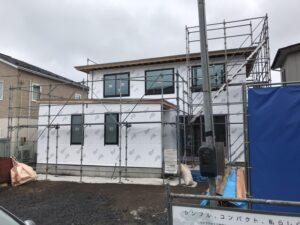 透湿防水シート 八戸市 工務店