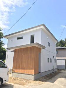 新築住宅のかっこいい外観|八戸市 工務店