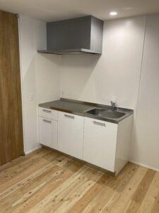 2世帯住宅の2階のミニキッチン 八戸市 工務店