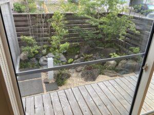 今から見るお庭 八戸市 新築住宅