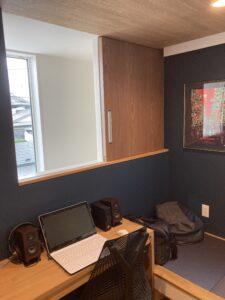 2階の書斎ルーム 八戸市 工務店
