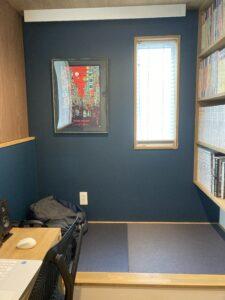 畳ルームのある書斎ルーム 八戸市 注文住宅
