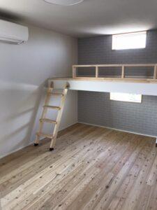 ロフト付き子供部屋|八戸市 工務店