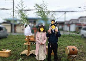 十和田市の新築住宅 地鎮祭 八戸市 工務店
