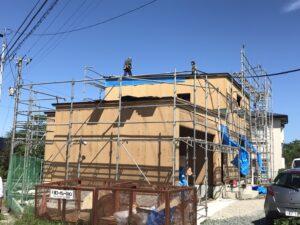 新築住宅の上棟|八戸市 新井田